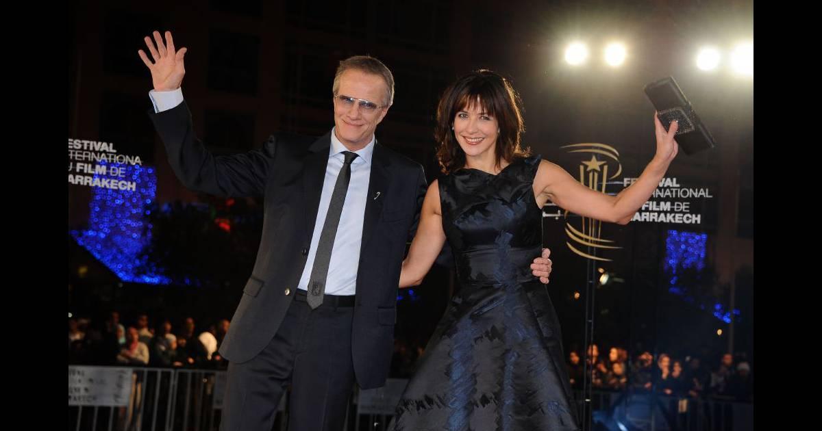 Christophe lambert et sa compagne sophie marceau marrakech le 4 d cembre 2010 - Sophie jovillard et sa compagne ...