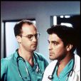 George Clooney dans Urgences, avec Anthony Edwards