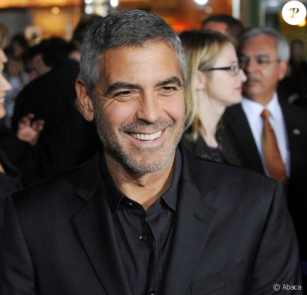 George Clooney à Los Angeles en 2009