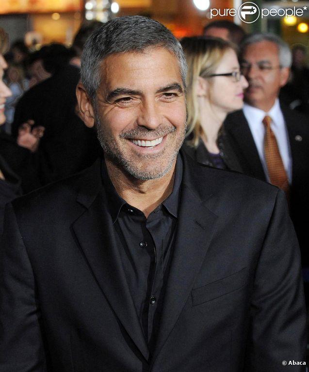 George Clooney à Los Angeles en 2009