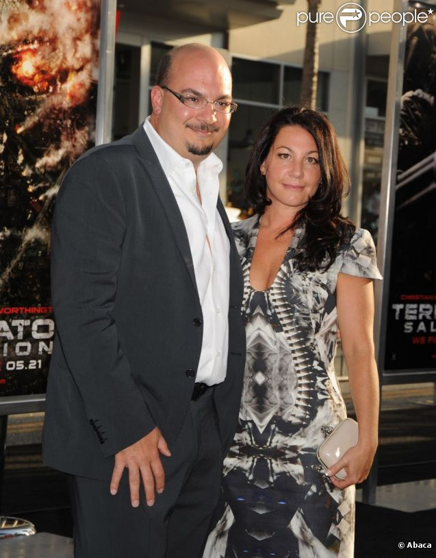 Anthony E. Zuiker et sa femme Jennifer en mai 2009.