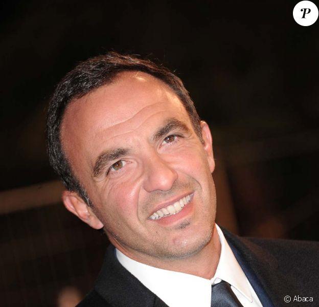 Nikos Aliagas, à Cannes, le 22 janvier 2011.