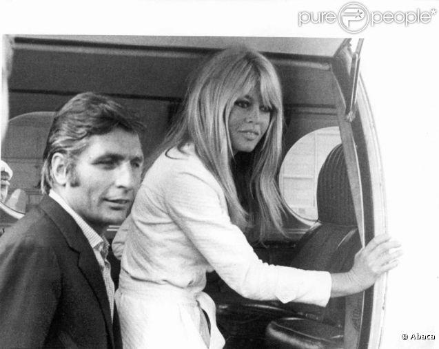 gunter sachs et brigitte bardot munich le 14 juillet 1966. Black Bedroom Furniture Sets. Home Design Ideas
