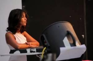 Leïla Bekhti : Lumineuse dans les coulisses de son shooting pour L'Oréal !