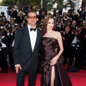 Cannes 2011 : Brad Pitt, Angelina Jolie, Sean Penn sur les marches. Silence.