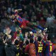 Eric Abidal, célébré en héros lors de son retour sur le terrain en demi-finale de la Ligue des Champions le 3 mai 2011 après l'ablation d'une tumeur au foie, a complètement chamboulé sa vision des choses de la vie...