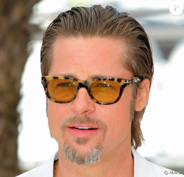 Brad Pitt fait partie des plus beaux gosses de ce 64ème Festival de Cannes, 16 mai 2011