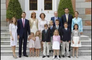 Letizia d'Espagne : jolie photo de famille pour une journée très spéciale...