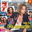 Charlie Nune incarne le personnage d'Eve dans la série PBLV. Magazine Télé 7 jours