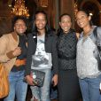 Vincent Mc Doom, Christine Kelly et Christine Arron lors du lancement de l'opération 2000 femmes pour 2012, à Paris, le 31 mai 2011.
