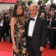 Guy Marchand et sa femme Adelina, au festival de Cannes, mai 2008.