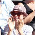Sara Forestier au tournoi de Roland-Garros, le 2 juin 2011.