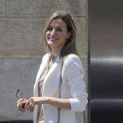 Letizia d'Espagne : En famille au chevet du roi...