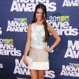 Selena Gomez lors des MTV Movie Awards 2011, au Gibson Theatre de Los Angeles, le 5 juin 2011.