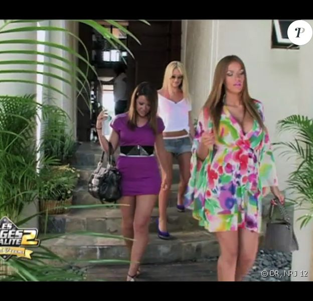 Les trois anges : Julie, Caroline et Daniela dans les Anges de la télé réalité : Miami Dreams, mardi 7 juin sur NRJ 12.