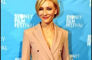 Cate Blanchett absolument sublime pour son retour au pays !