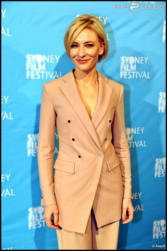 Cate Blanchett à l'occasion de la présentation de  Hannah , lors de l'ouverture du Festival du Film de Sydney, le 8 juin 2011.