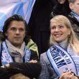Vincent Labrune et Margarita Louis-Dreyfus, au Stade Vélodrome en 2010.