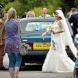 Lily Allen lors de son mariage avec Sam Cooper le 11 juin 2011 en Angleterre