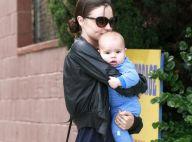 Miranda Kerr ne lâche plus son fils à la bouille d'ange