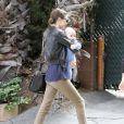 Miranda Kerr et son adorable fils Flynn dans les rues de Los Angeles en mai 2011
