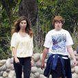 Maria Shriver est allée se promener avec son fils Christopher Schwarzenegger à Malibu le 11 juin 2011
