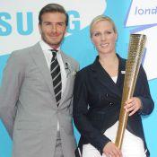 Londres 2012 : David Beckham, cavalier d'un jour de la princesse Zara Phillips !