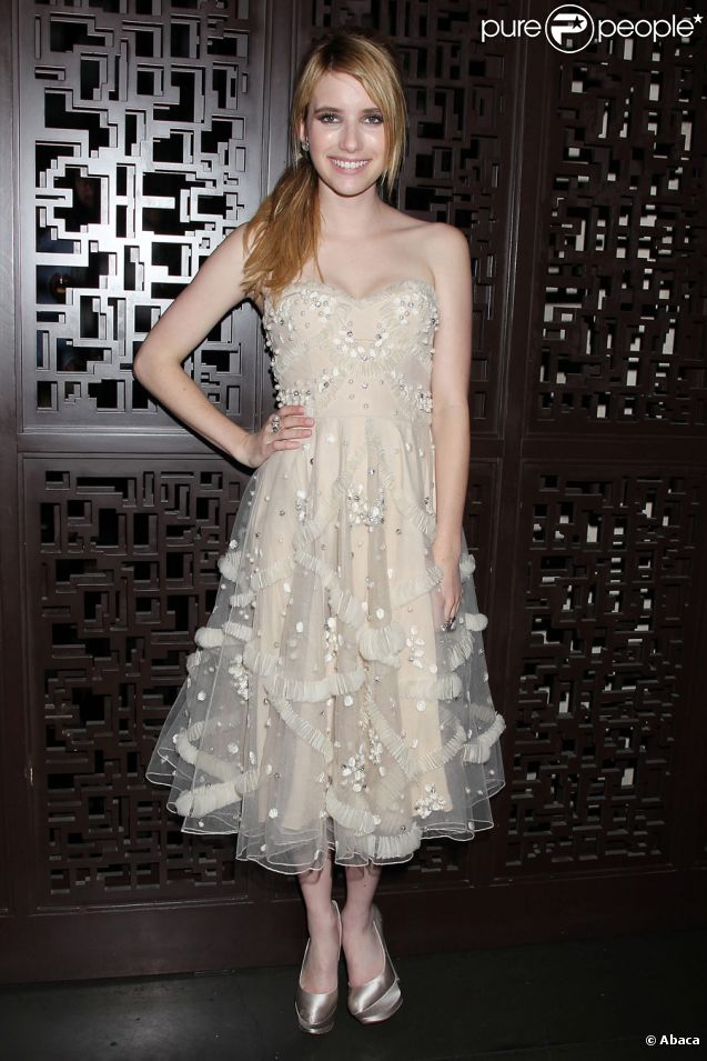 Emma Roberts lors de l'avant-première du film The Art of Getting By à New York le 13 juin 2011
