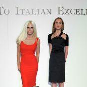 Allegra et Donatella Versace, deux silhouettes marquantes pour la mode italienne