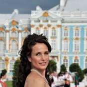 Andie MacDowell : Beauté poétique sur les terres russes