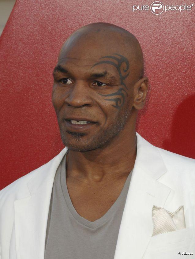 Mike Tyson lors de l'avant-première de Very Bad Trip 2 à Los Angeles le 19 mai 2011
