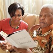 Michelle Obama : Sans Barack, loin des USA, pour un homme d'exception