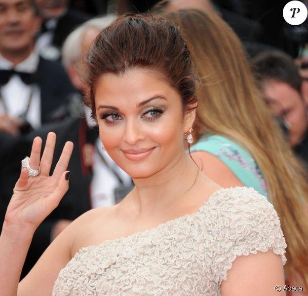 Aishwarya Rai au festival de Cannes en mai 2011
