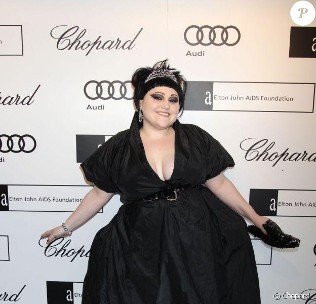 Beth Ditto lors du 13e White Tie & Tiara Ball, en partenariat avec Chopard, au profit de la fondation Elton John Aids