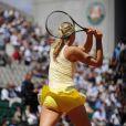 Maria Sharapova dans un remake de la célèbre photo Tennis Girl...