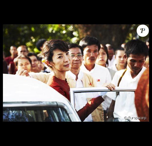 Michelle Yeoh dans le film The Lady de Luc Besson