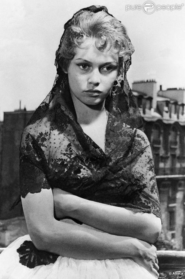 Brigitte Bardot, alors âgée de 30 ans. Photo prise en 1954.