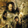 L'affiche du film Le Seigneur des Anneaux - Le Retour du roi