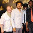 L'avant-première de Case Départ, le 5 juillet 2011 à Paris, avec Franck De La Personne, Fabrice Eboué, Eriq Ebouaney et Thomas Ngijol