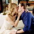 Hilary Swank en plein baiser dans La Locataire, qui sort le 27 juillet 2011