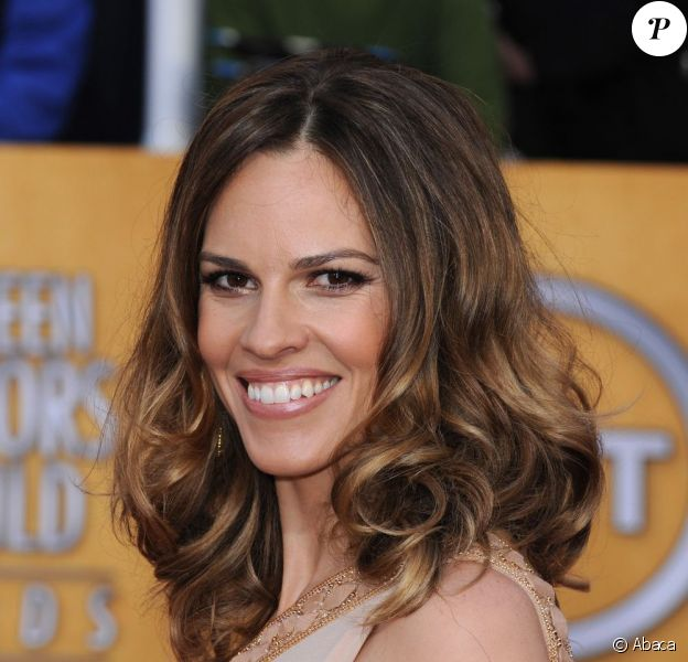 Hilary Swank lors des Screen Actors Guild Awards en janvier 2011