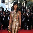 Naomi Campbell brille sur les tapis rouges du monde entier, ici au Festival de Cannes en 2011