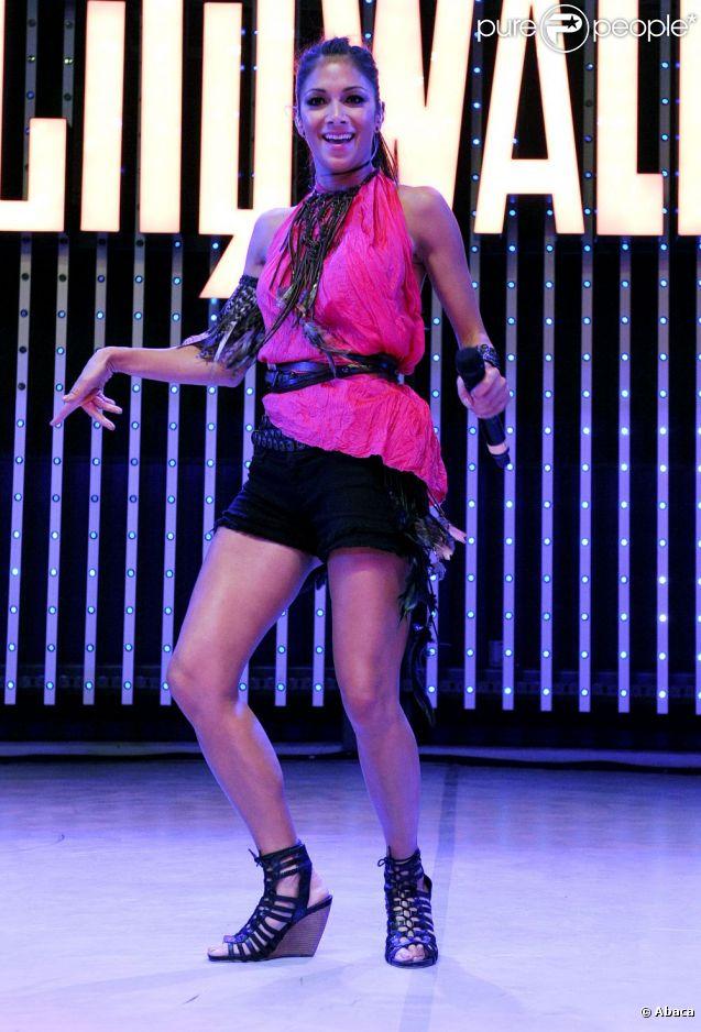 Nicole Scherzinger en concert au 5 Towers à Los Angeles le 12 juillet 2011