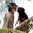 Tom Cruise et sa femme Katie Holmes à Miami le 17 juillet 2011