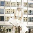 La statue Marilyn Monroe haute de 8 mètres dévoilée à Chicago le 16 juillet 2011