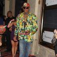 Dennis Rodman fête son anniversaire à Las Vegas le 19 juillet 2011