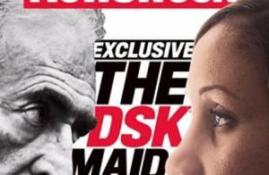 La première photo de Nafissatou Diallo en couverture de Newsweek... et à la télé