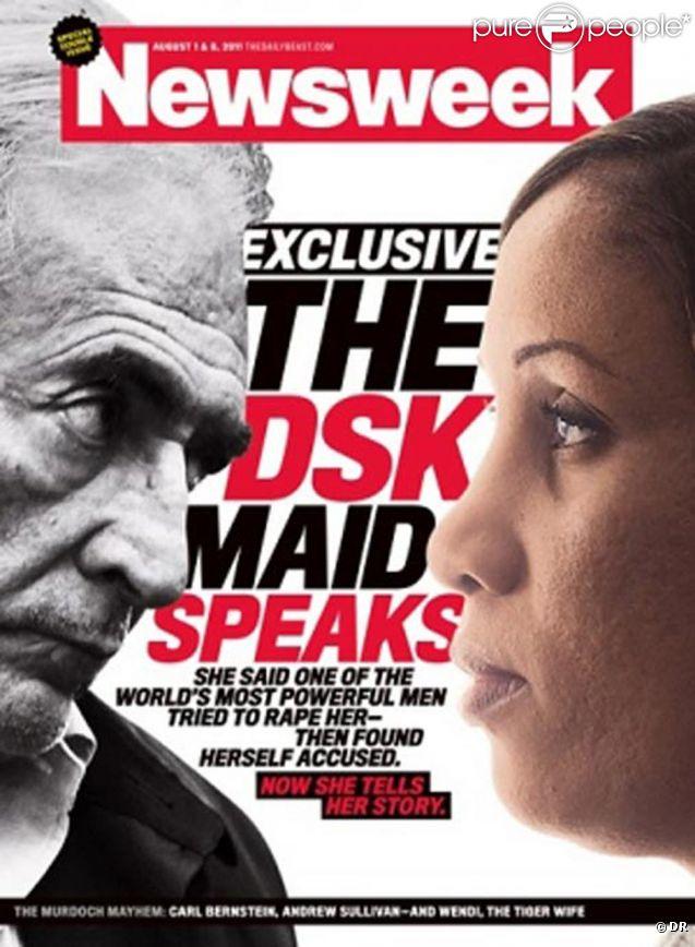 La couverture du magazine américain Newsweek de lundi 25 juillet