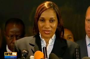 Affaire DSK: Nafissatou Diallo évoque sa douleur devant des dizaines de caméras