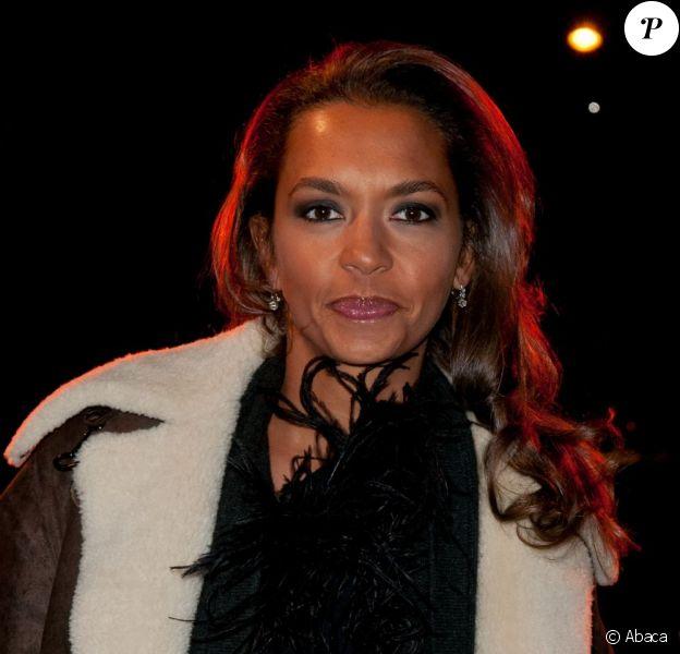Karine Le Marchand à Paris Diner en janvier 2011 à Paris